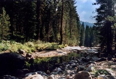 """Canyon Stream"", 1996, Sedona, Arizona, Landscape/Light studies series, C–print"