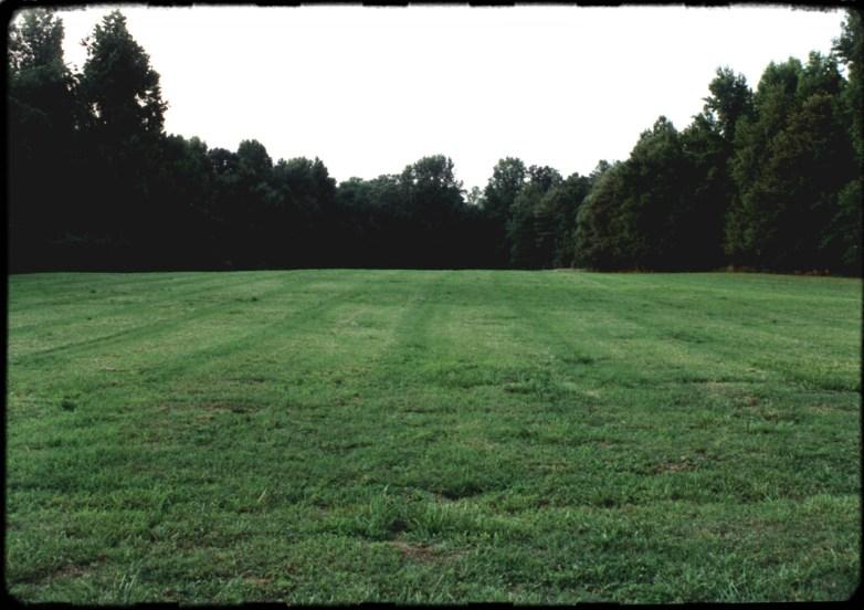 """Empty Lot"", 1995, Enon, Va, Landscape/Light studies series, C–print"