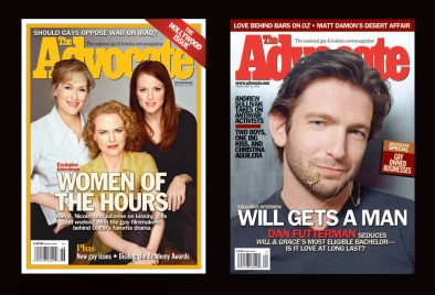 """""""The Advocate"""" selected covers, 3003, LPI Media"""
