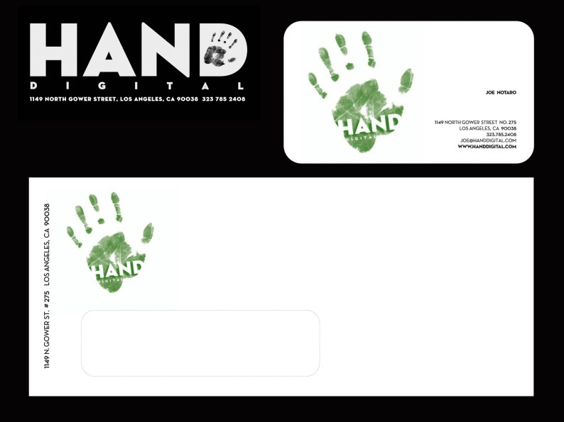 Hand Digital, Business identity, 2008