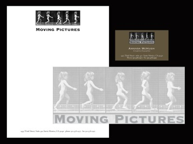 Moving Pictures, Letterhead, 1995
