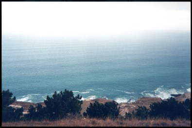 """Santa Rosa Island shore"", 1999, Channel Islands, Ca, Landscape/Light studies series, C–print"