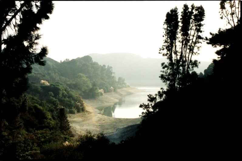"""Lake Hollywood Vista"", 1995, Hollywood Ca, Landscape/Light studies series, C–print"