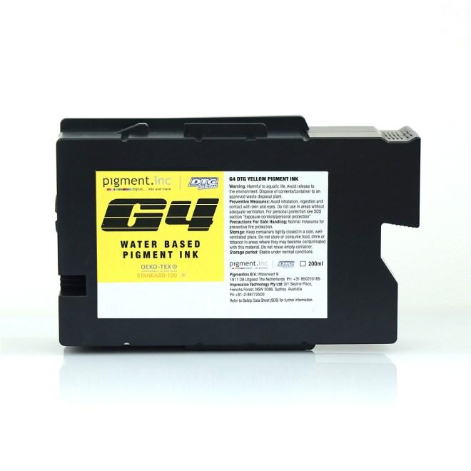 DTG G4 Yellow (Y) Ink Cartridge