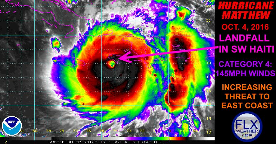 hurricane matthew haiti october 4 2016