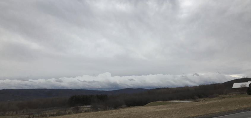 finger lakes weather cloudy mild spring