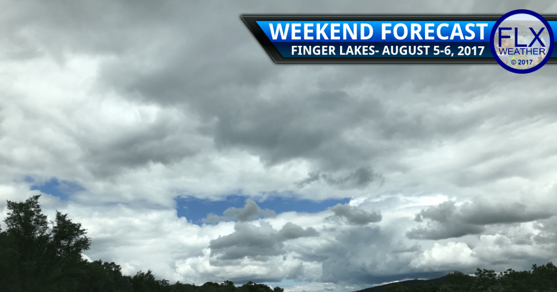 finger lakes weather forecast clouds sun showers cool temperatures