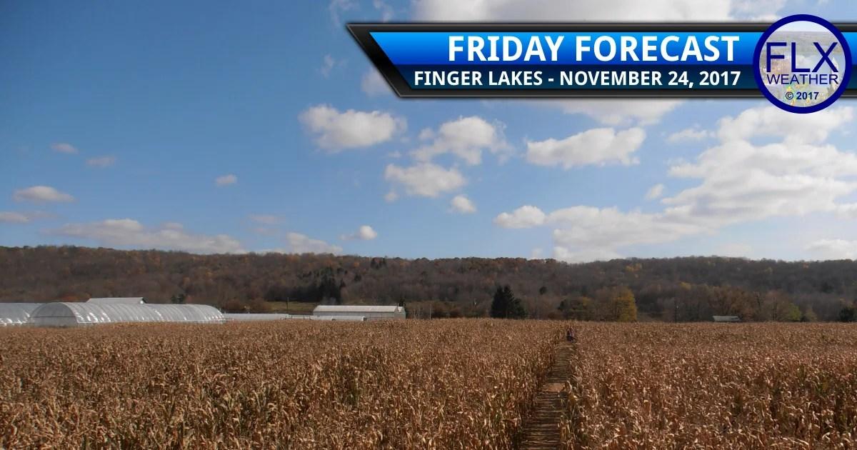 finger lakes weather forecast black friday november 24 2017 weekend travel