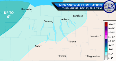 finger lakes weather snow amounts snow map saturday december 23 2017