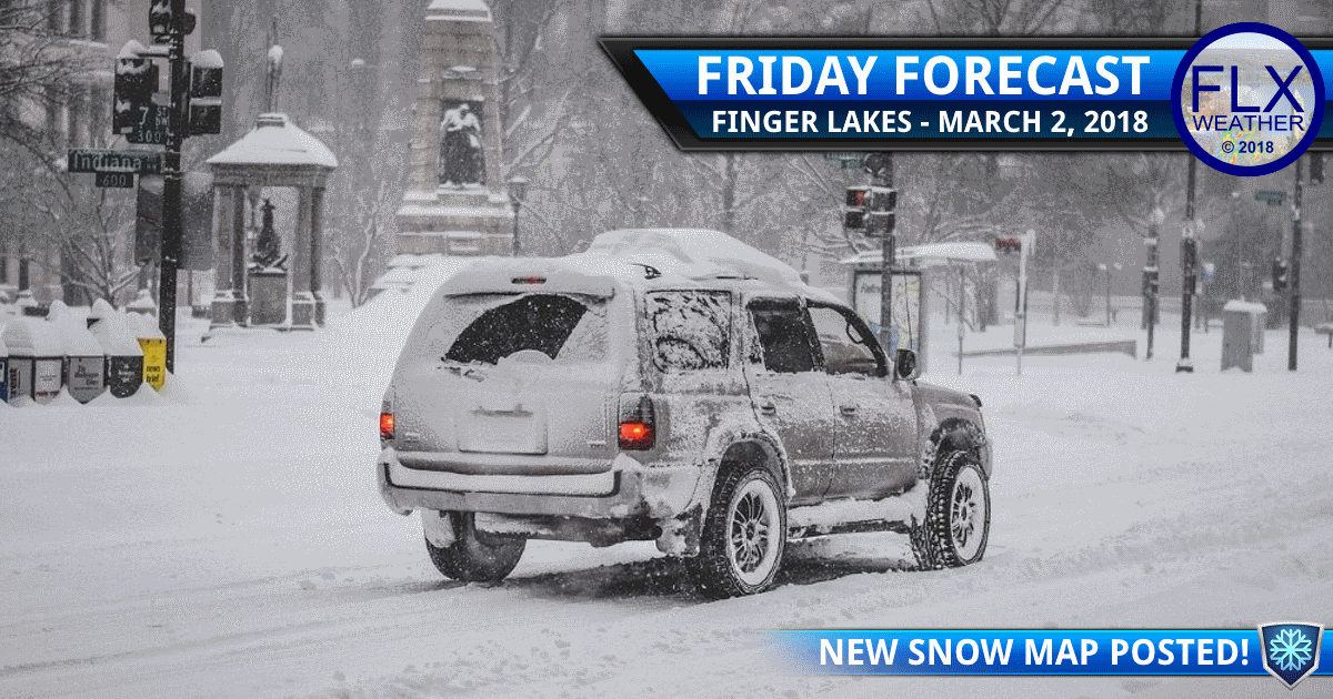 finger lakes weather forecast snow storm friday march 2 2018 storm updates
