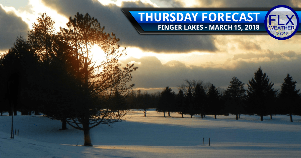 finger lakes weather forecast thursday march 15 2018 cold wind snow