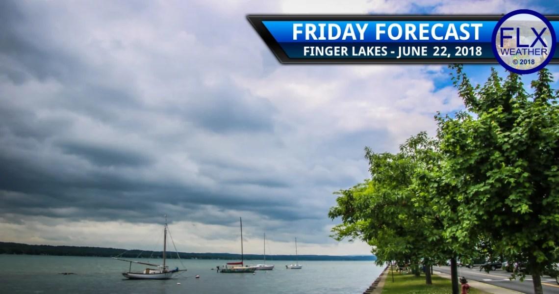 finger lakes weather forecast friday june 22 2018 rain weekend