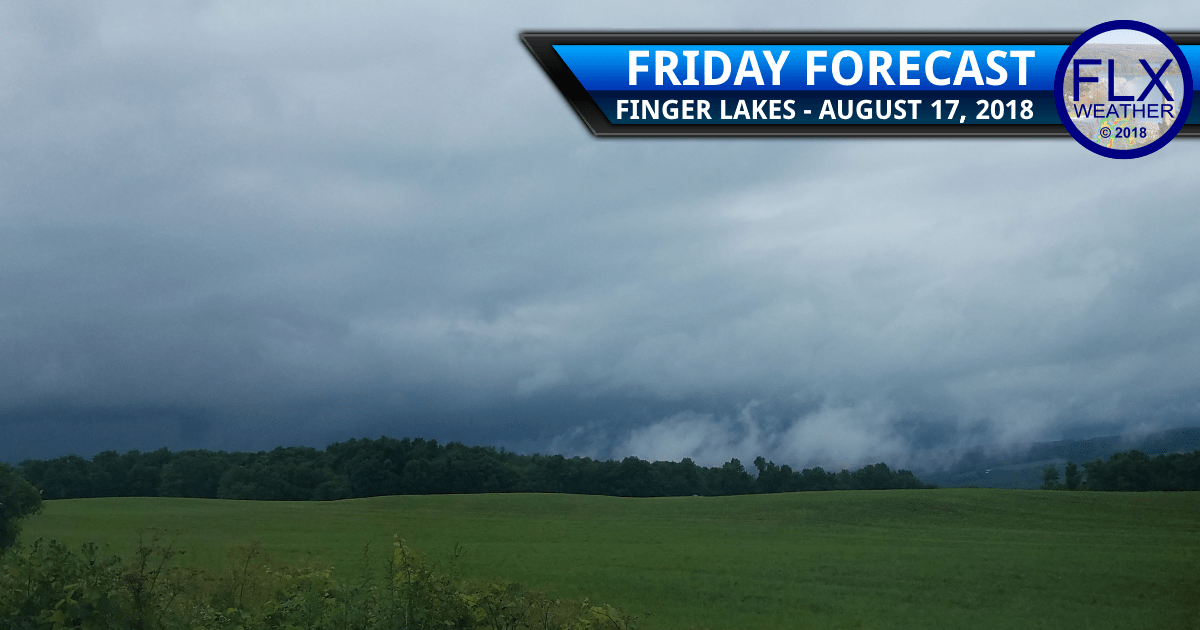finger lakes weather forecast friday august 17 2018 thunderstorms flash flooding