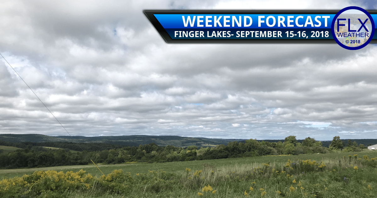 finger lakes weather forecast saturday september 15 2018 sunday september 16 2018 weekend weather forecast