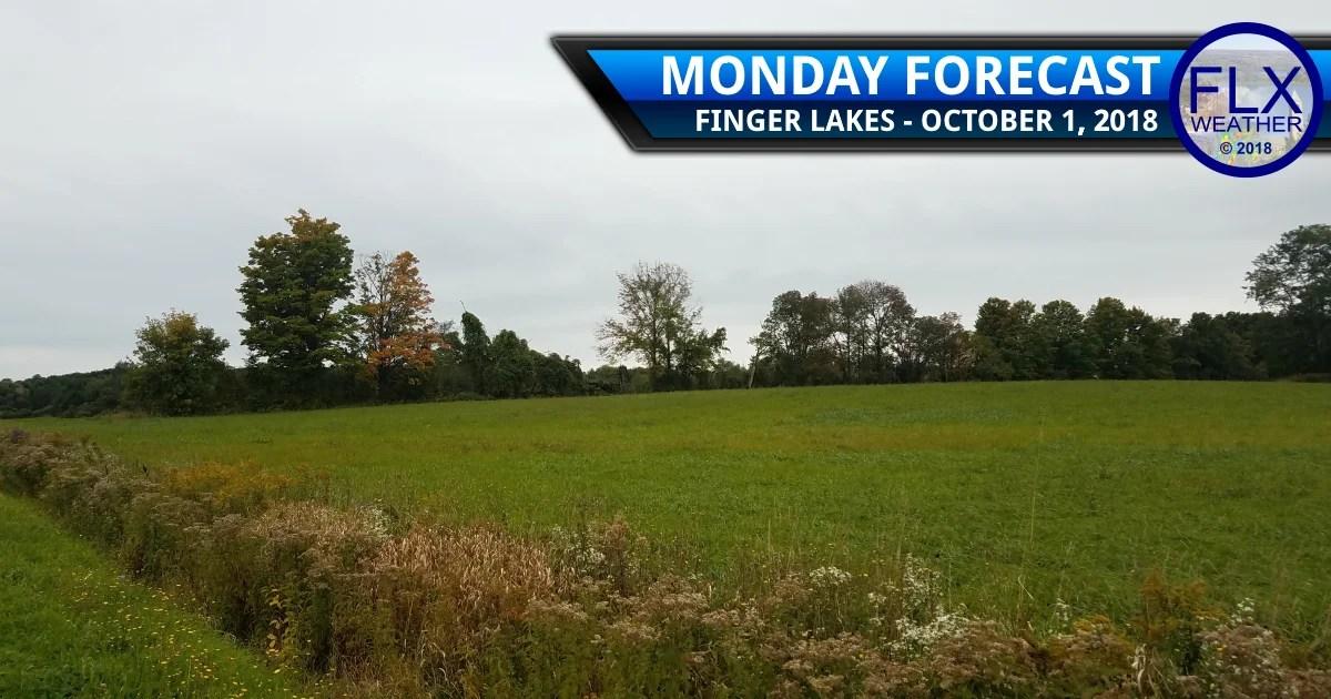 finger lakes weather forecast rain showers thunder