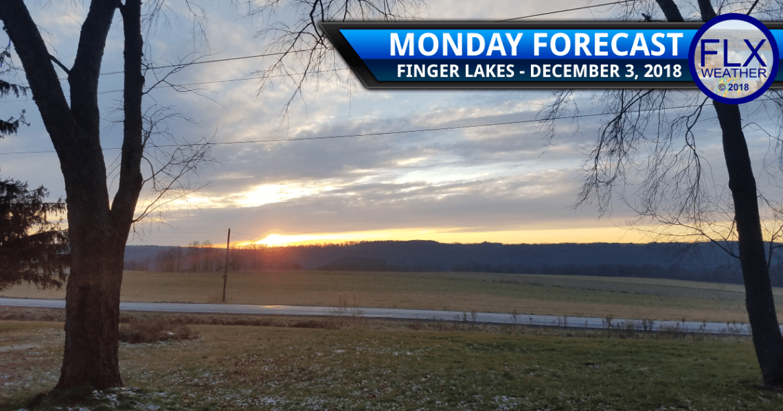 finger lakes weather forecast monday december 3 2018 cold front lake effect snow