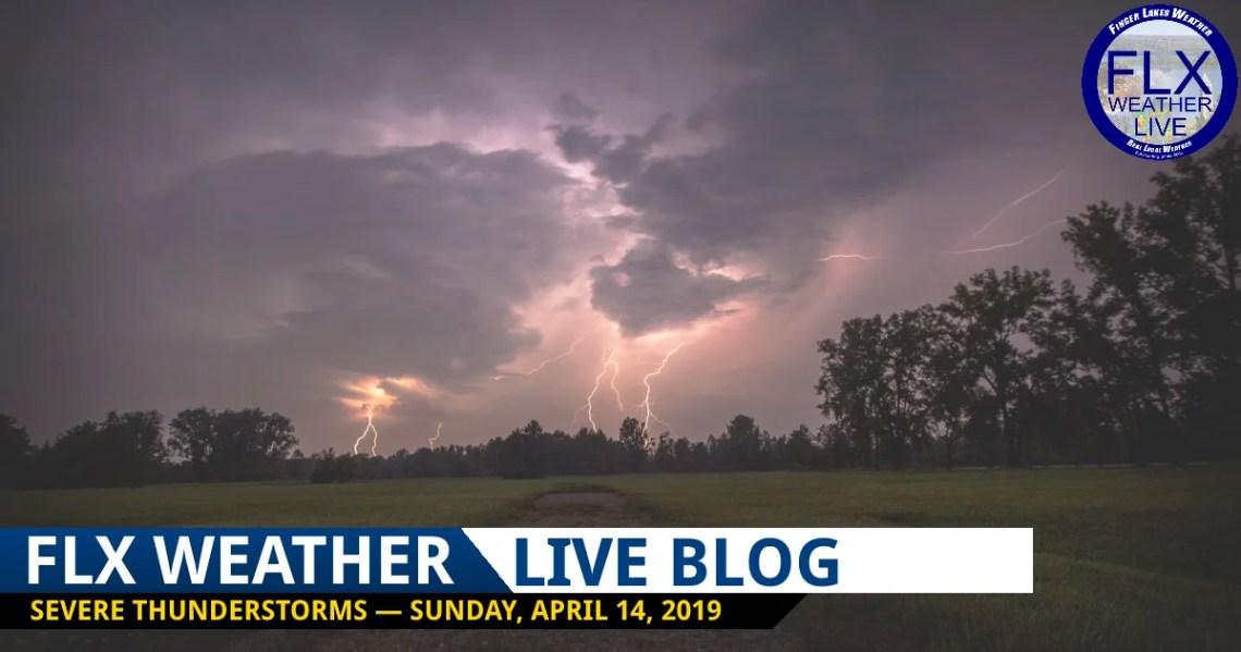 finger lakes weather forecast live weather blog udpates severe thunderstorms sunday april 14 2019