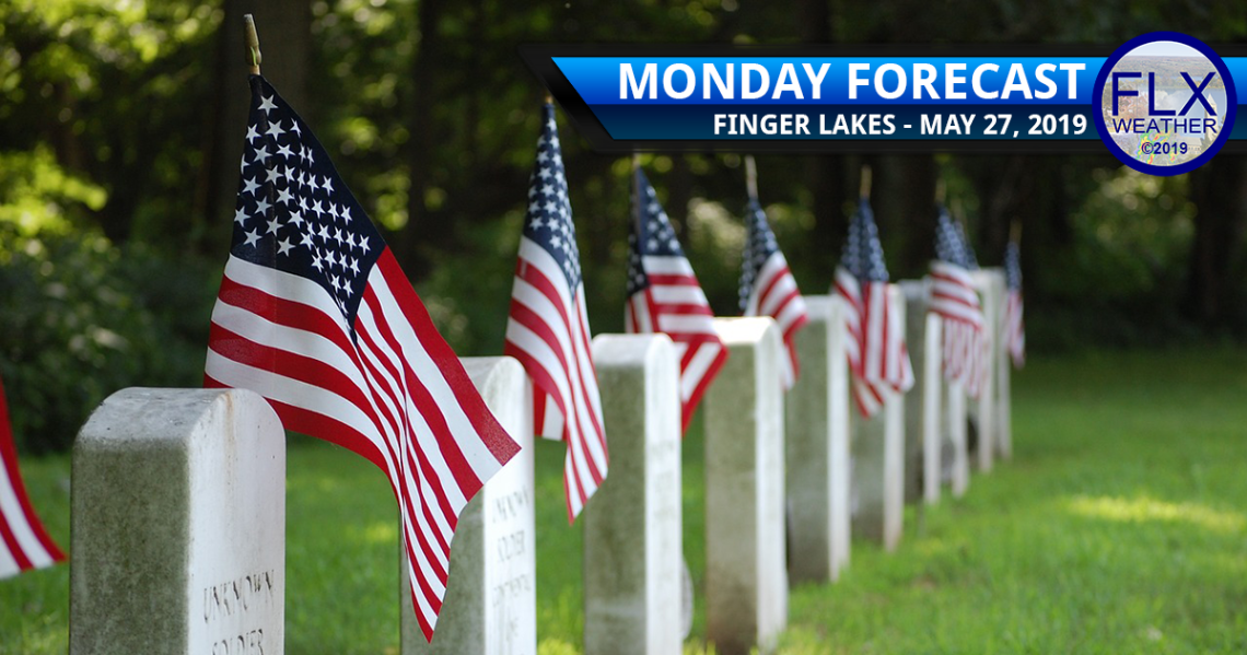 finger lakes weather forecast monday may 27 2019 memorial day perfect weather rainy week ahead
