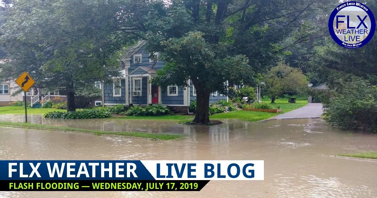 finger lakes weather live blog wednesday july 17 2019 flash flood potential
