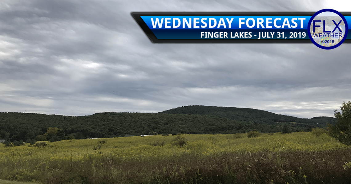 finger lakes weather forecast wednesday july 31 2019 cloudy