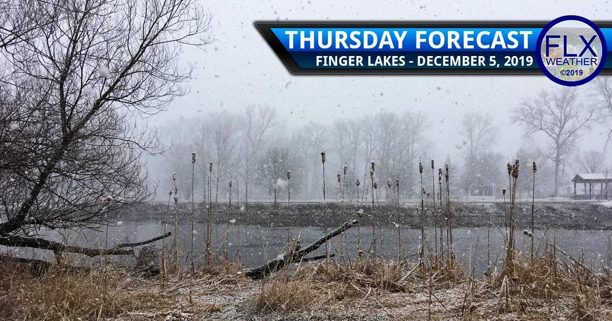 finger lakes weather forecast thursday december 5 2019 lake effect snow clipper system