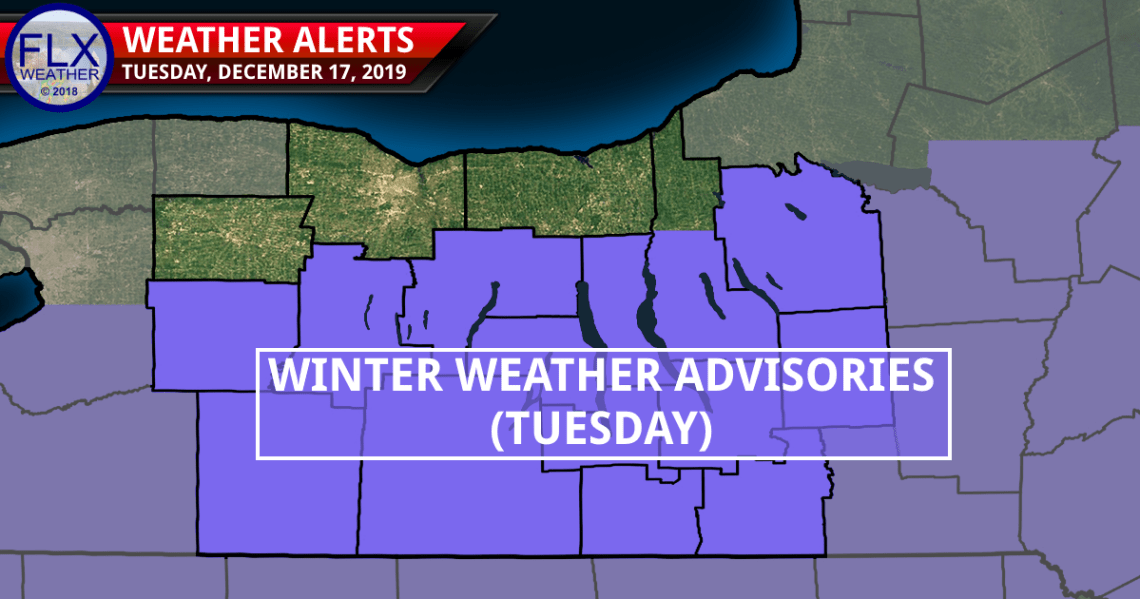 finger lakes weather forecast monday december 16 2019 winter weather advisories tuesday snow