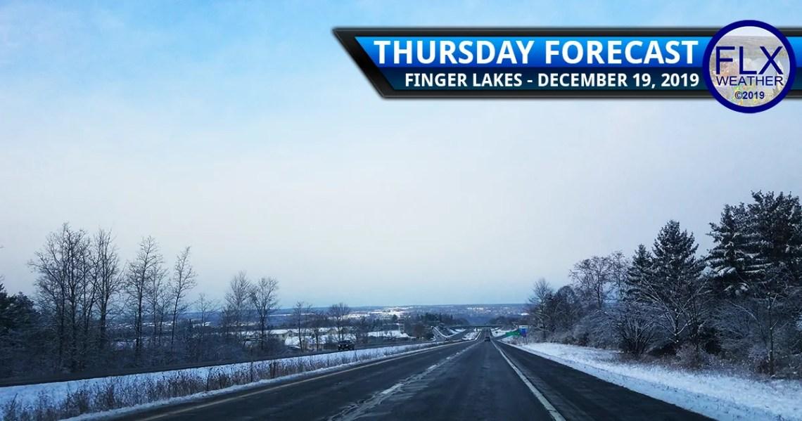 finger lakes weather forecast thursday december 19 2019 lake effect snow sunshine