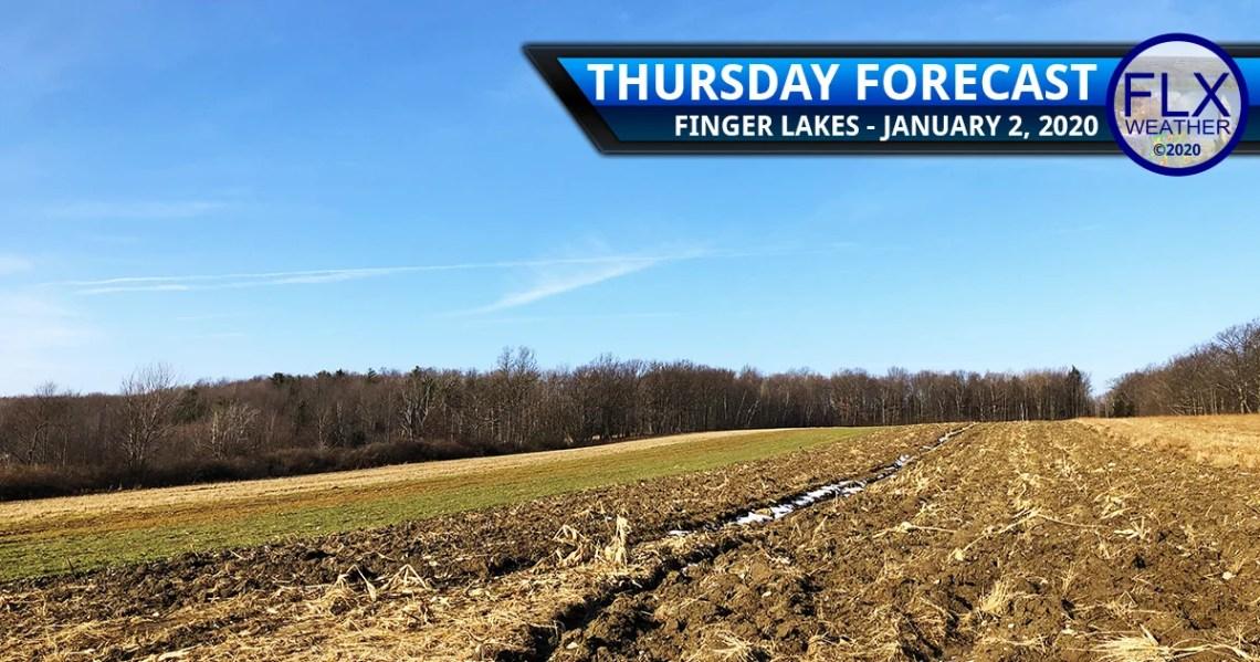 finger lakes weather forecast thursday january 2 2020 sunny mild weekend snow