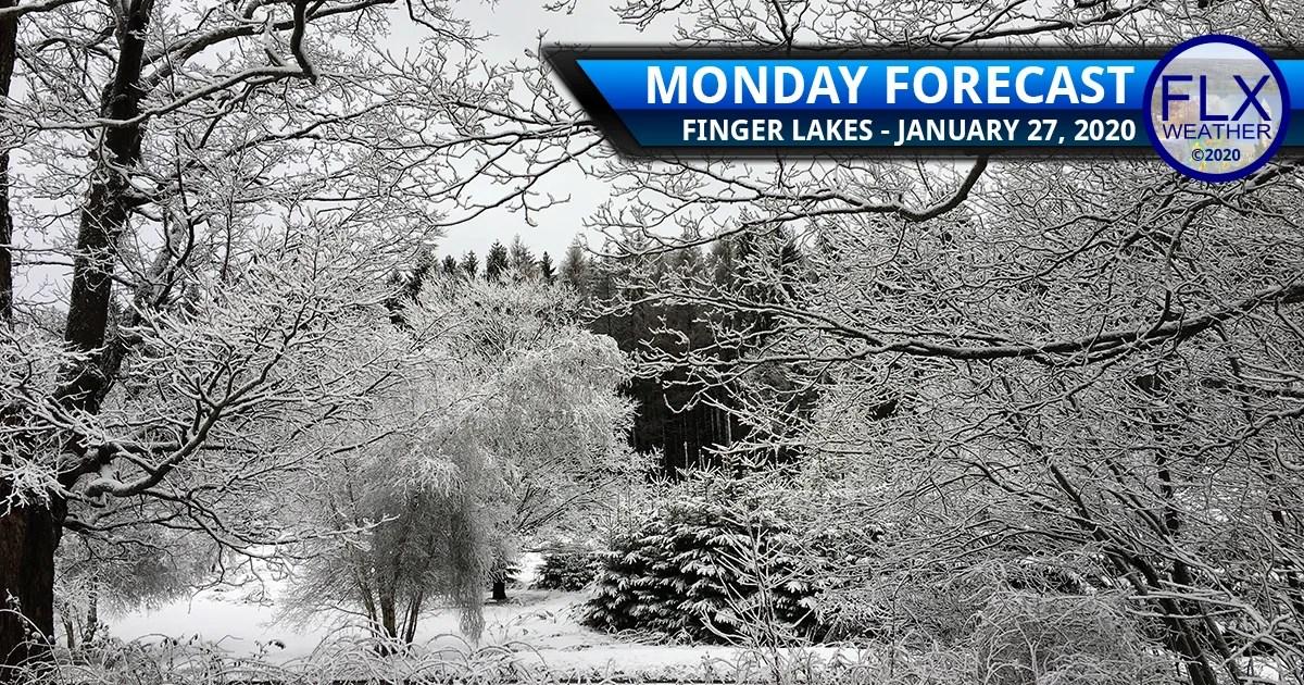 finger lakes weather forecast monday janaury 27 2020 lake effect snow
