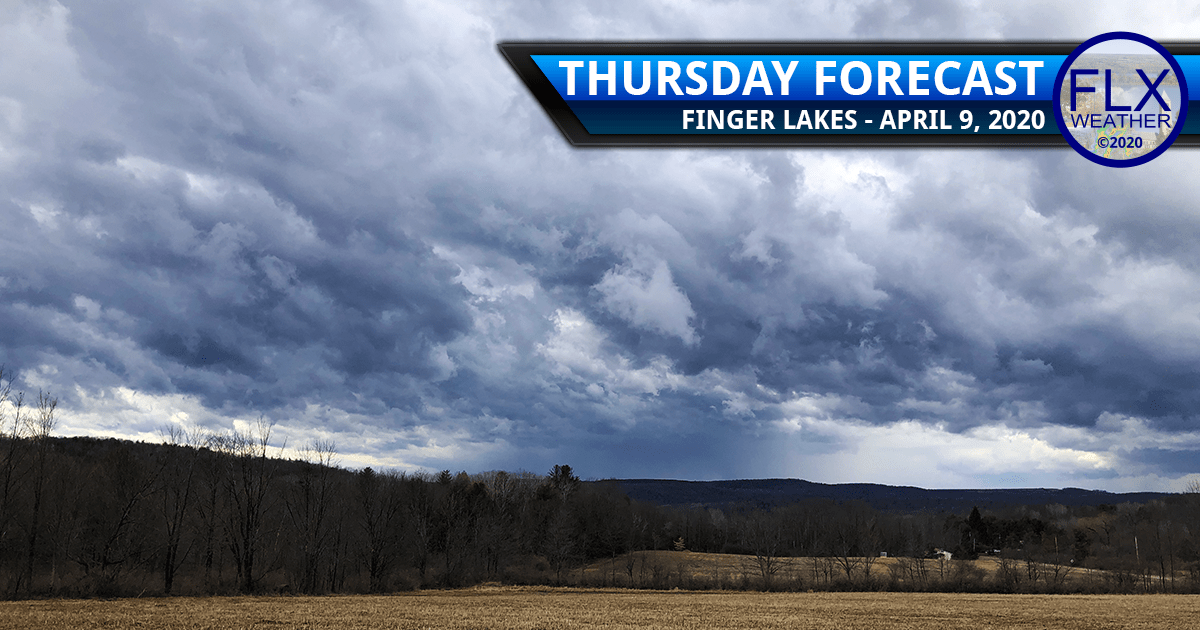 finger lakes weather forecast thursday april 9 2020 cold front windy rain snow