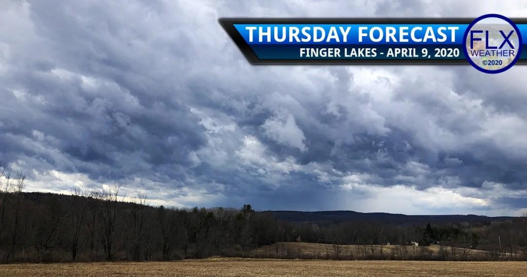 finger lakes weather forecast thursday april 9 2020 cold front windy rain snow