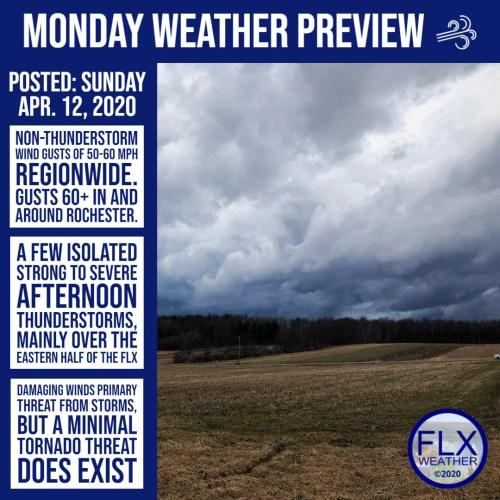 finger lakes weather forecast sunday april 12 2020