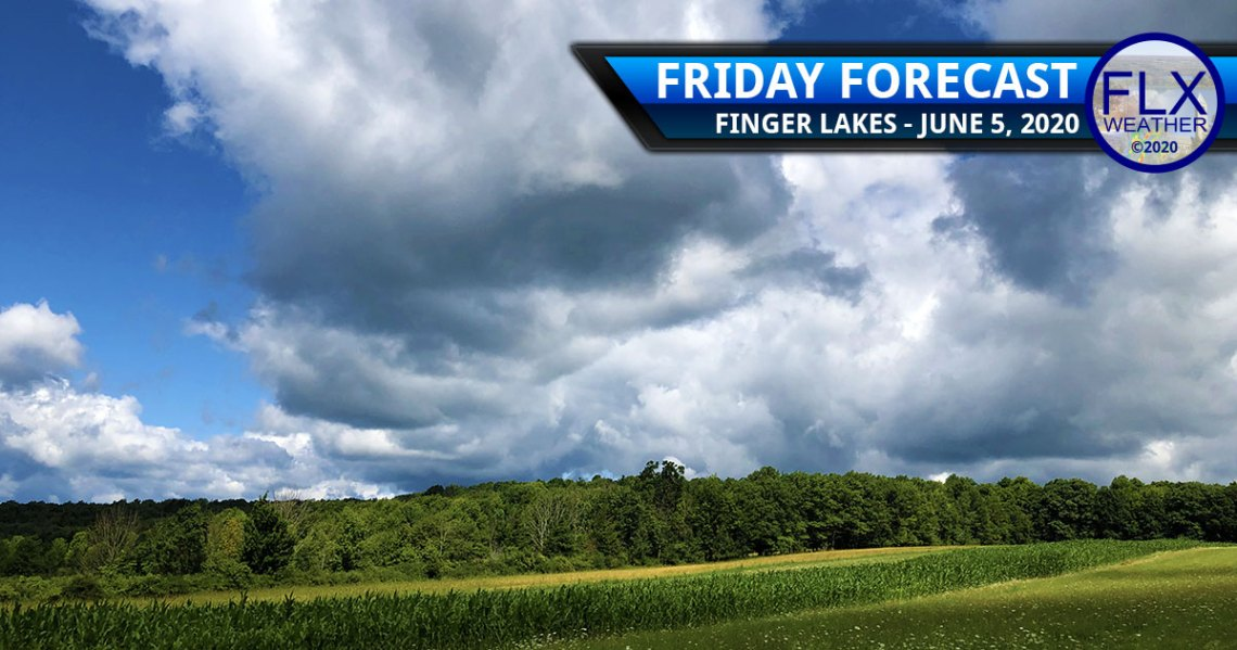 finger lakes weather forecast sun clouds showers cold front