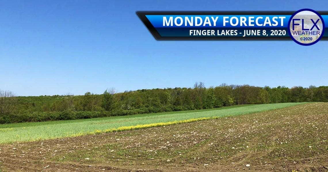 finger lakes weather forecast monday june 8 2020 sunny dry hot