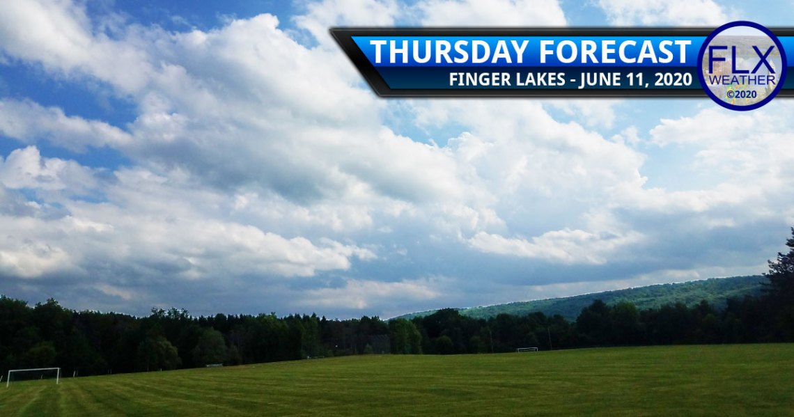 finger lakes weather forecast thursday june 11 2020 cooler less humid breezy