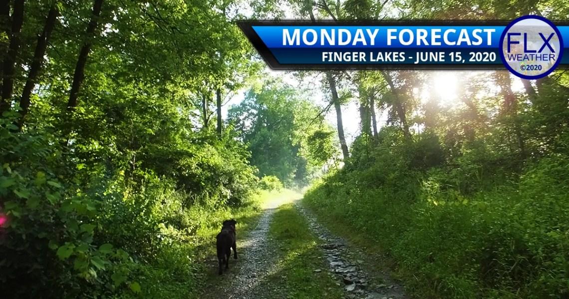 finger lakes weather forecast monday june 15 2020 sunny warming up
