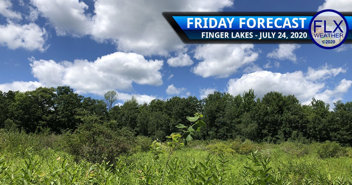 finger lakes weather forecast friday july 24 2020 sun less humid weekend weather