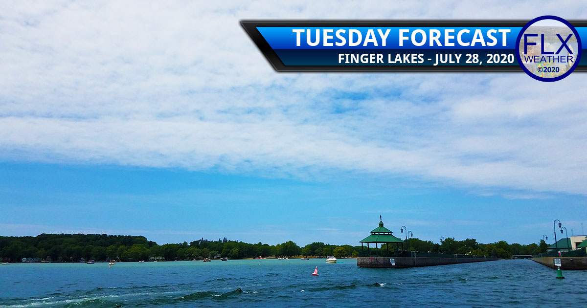 finger lakes weather forecast tuesday july 28 2020 clearing skies less humid