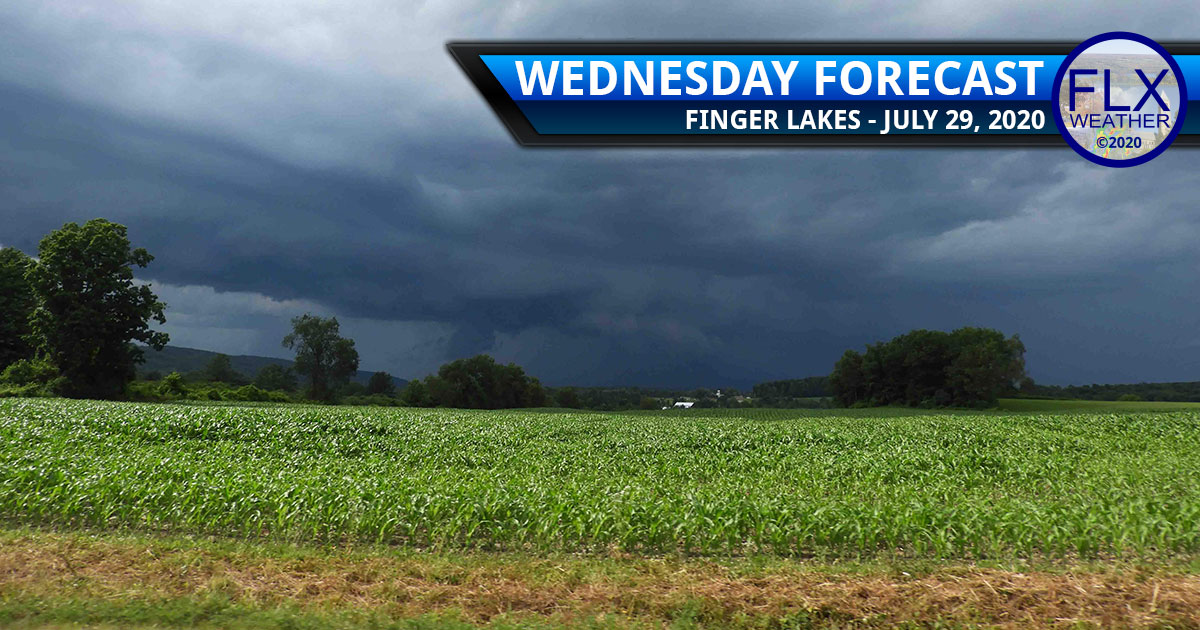 finger lakes weather forecast wednesday july 29 2020 scattered thunderstorms cold front