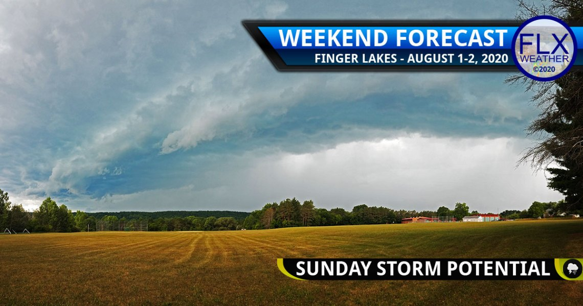 finger lakes weather forecast saturday august 1 2020 strong thunderstorms sunday