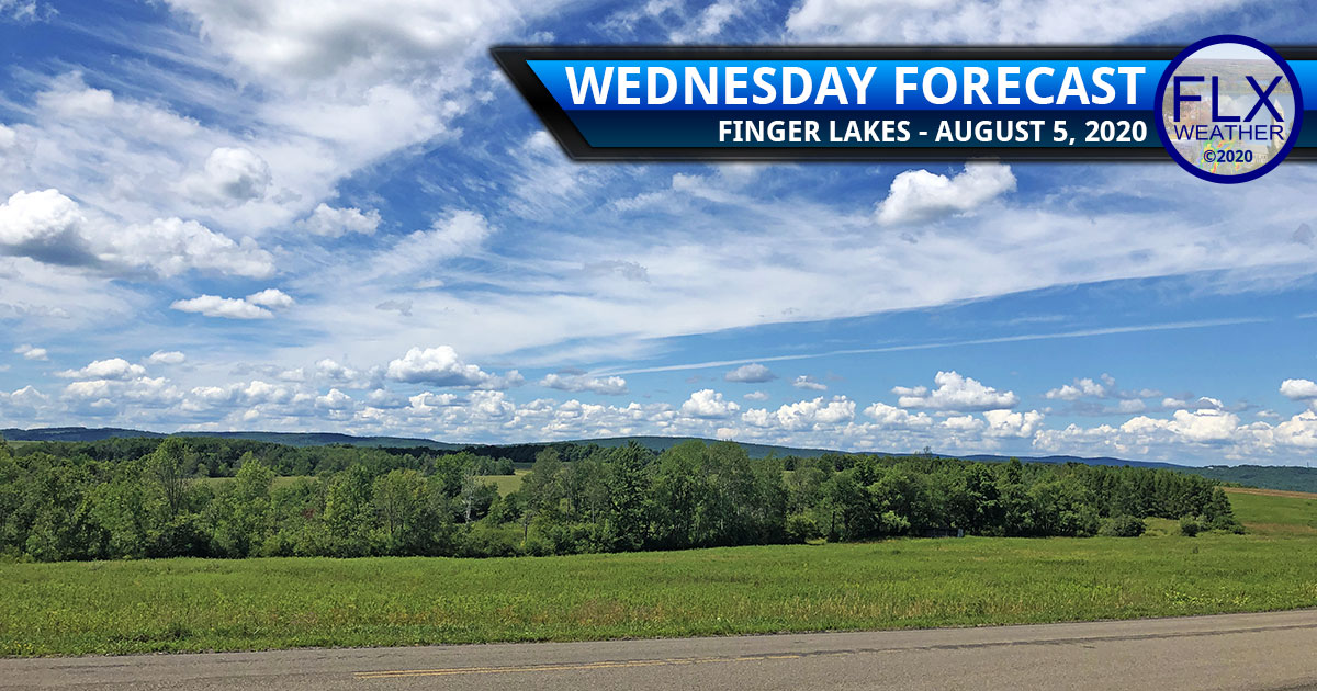 finger lakes weather forecast wednesday august 5 2020