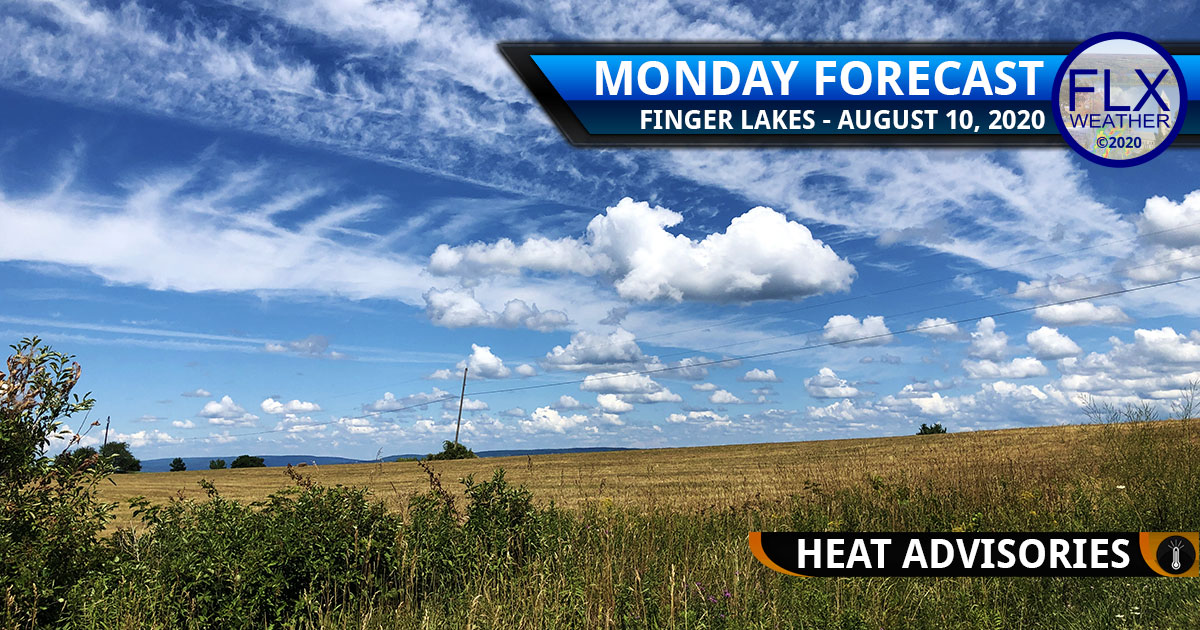 finger lakes weather forecast monday august 10 2020 hot humid heat advisories