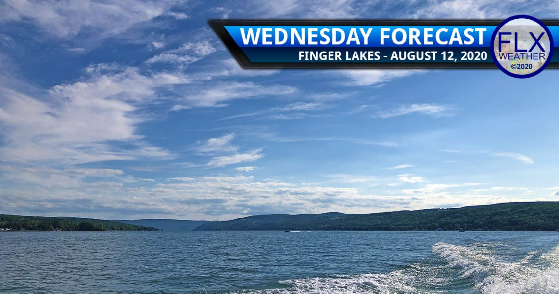 finger lakes weather forecast wednesday august 12 2020 mild dry sunny