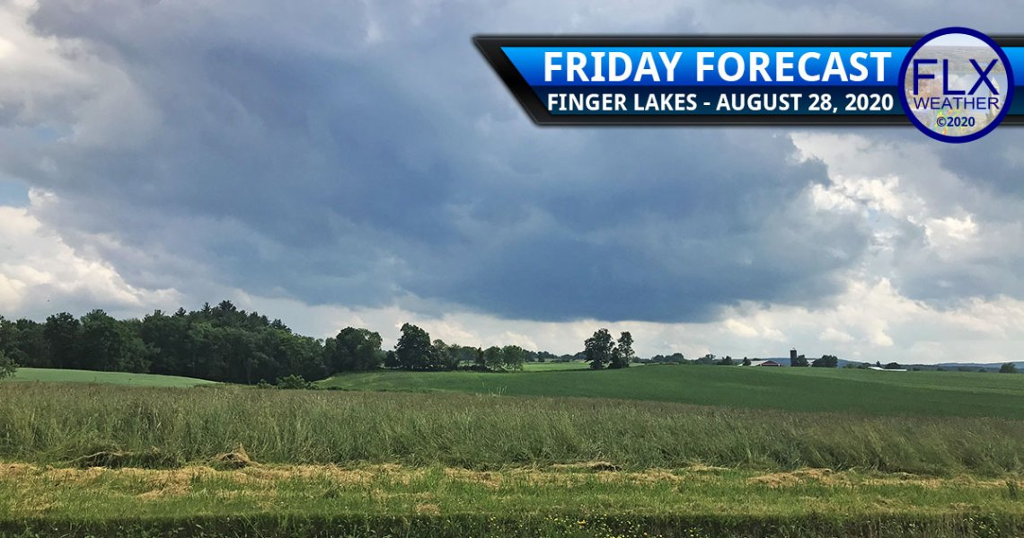 finger lakes weather forecast friday august 28 2020 clouds showers weekend cooler