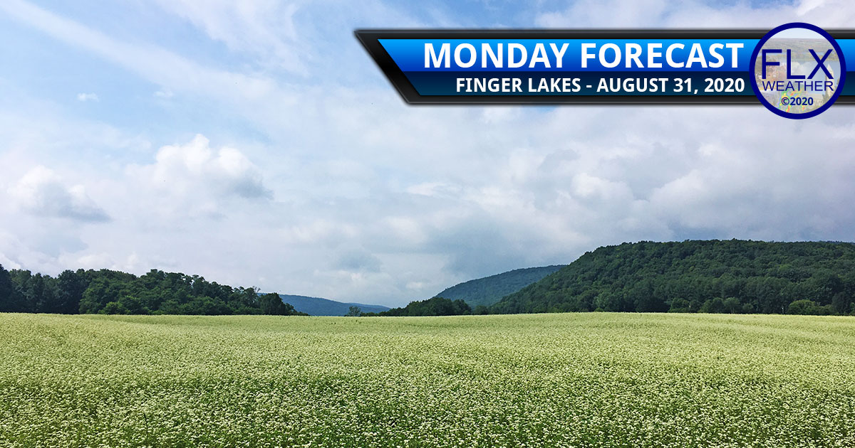 finger lakes weather forecast monday august 31 2020 sun clouds mild temperatures little rain