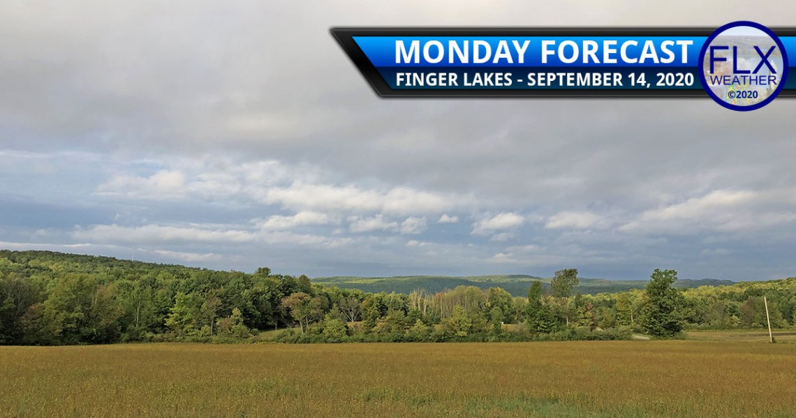 finger lakes weather forecast monday september 14 2020 sun clouds cold front wind wildfire smoke