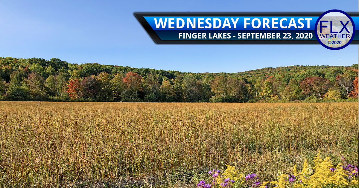 finger lakes weather forecast wednesday september 23 2020 warm quiet weekend