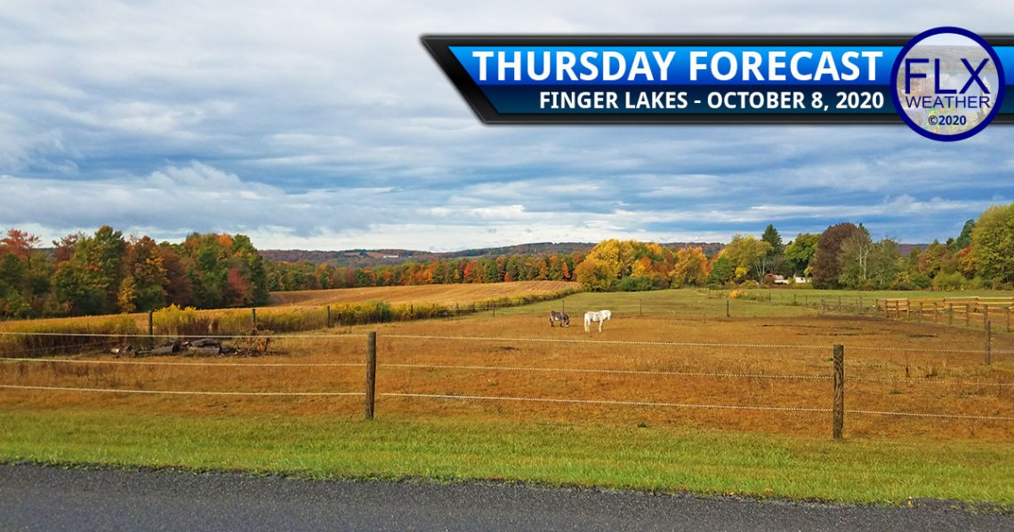 finger lakes weather forecast thursday october 8 2020 clouds showers breezy cool