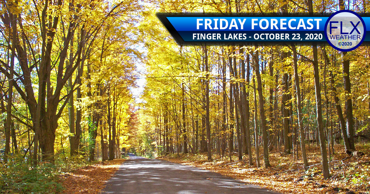 finger lakes weather forecast friday october 23 2020 sunny warm cold front chilly pattern