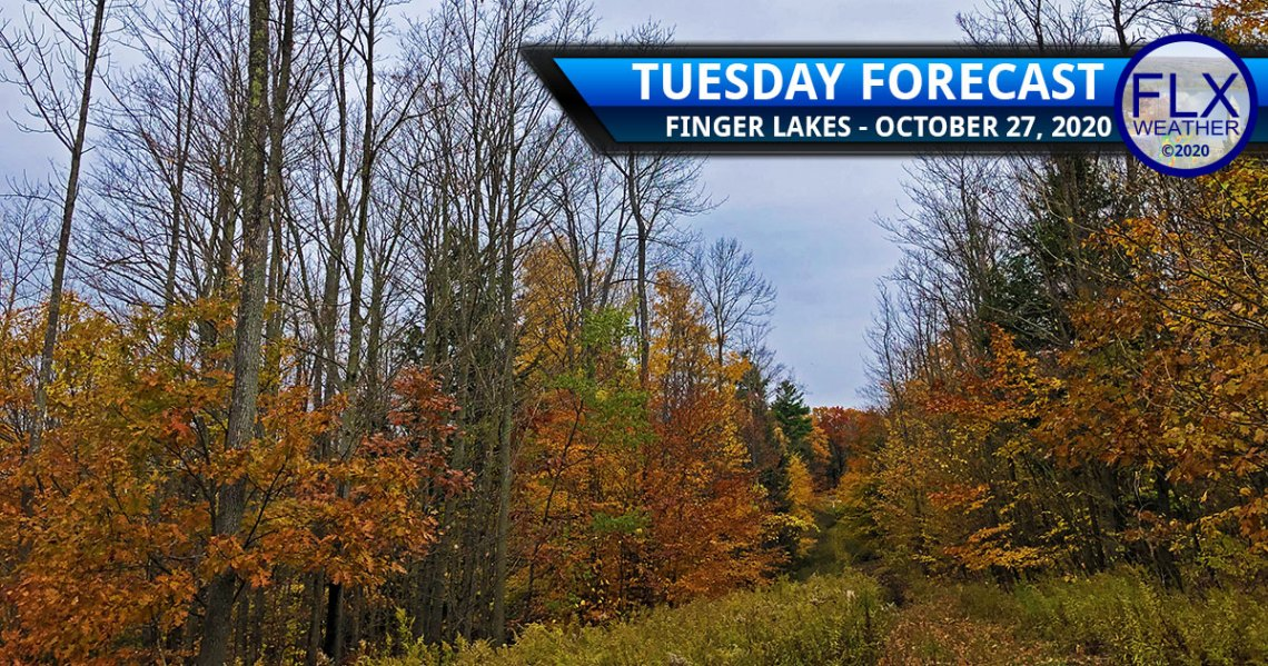 finger lakes weather forecast tuesday october 27 2020 cloudy showers late week rain snow